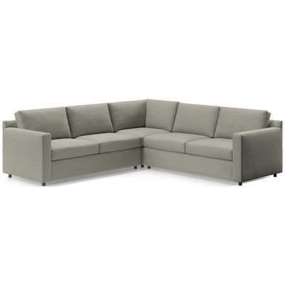 Barrett 3-Piece Sectional - Crate and Barrel