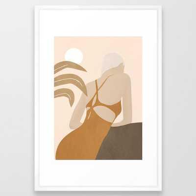 Summer Day III Framed Art Print - Society6