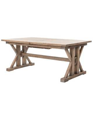 LA PERGOLA EXTENSION DINING TABLE - McGee & Co.