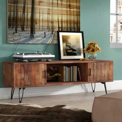 "Adger Media TV Stand for TVs up to 65"" - Wayfair"