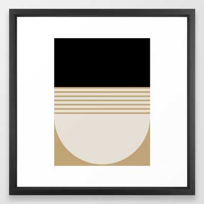 Abstract Composition - 04 Framed Art Print - Society6