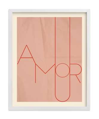 Amour - 11x14 - Minted