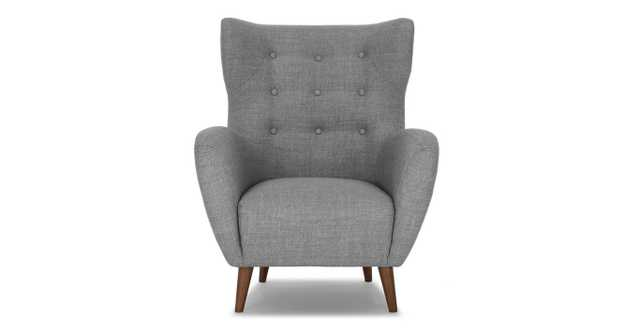 Mod Jay Gray Armchair - Article