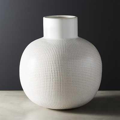 ruse ivory vase - CB2