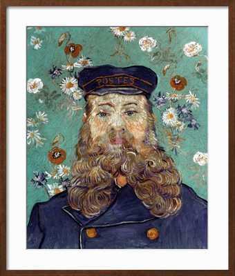"""Van Gogh: Postman, 1889 - 28"""" x 33"""" - art.com"""