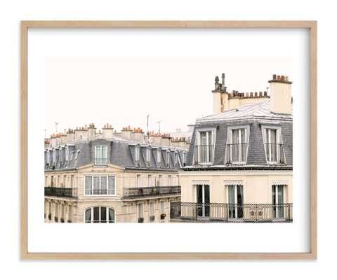 parisian windows - 20 x 16 - Minted