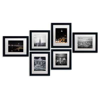 'Urban' Framed 6 Piece Photo Graphic Print Set on Paper - Wayfair