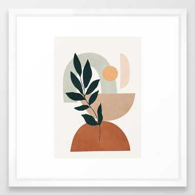 Soft Shapes IV Framed Art Print - Society6