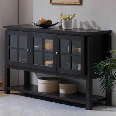 Heurich Buffet Table - BLACK - Wayfair