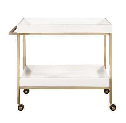 Alfonso Bar Cart - Wayfair