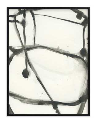 Plant cell 3 - 30x40 - Rich Black Wood Frame - Minted