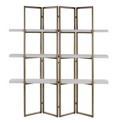 Catherine Concrete Bookcase - Maren Home