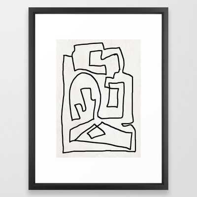 Abstract Line - Vector Black - Society6