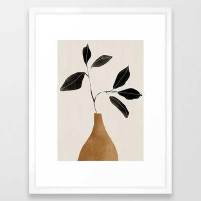 minimal plant 6 Framed Art Print - Society6