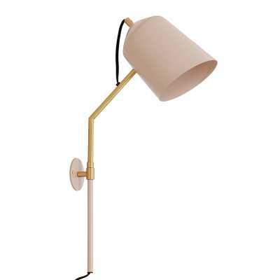 Myers 1-Light Plug-In Armed Sconce - Wayfair