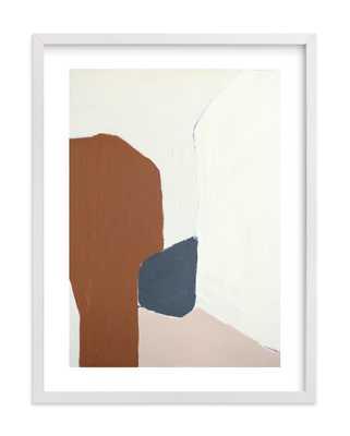 """Terrazzo Wall Art - 19.3"""" X 25.3""""/ White Wood Frame - Minted"""