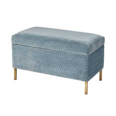 Broadnax Upholstered Flip top Storage Bench - Wayfair