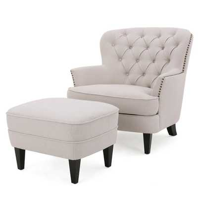 Heywood Armchair and Ottoman - Wayfair