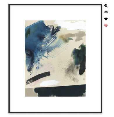 "Identity-Contemporary - Thin Black Wood, frame width 0.5"", depth 0.5"" - Artfully Walls"