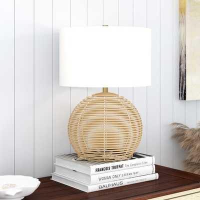 "Highland Dunes Sampson 22"" Table Lamp - Wayfair"