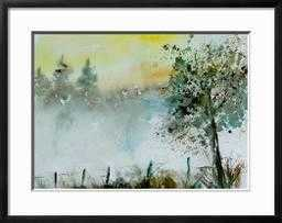 Watercolor Mist, Framed Print - art.com