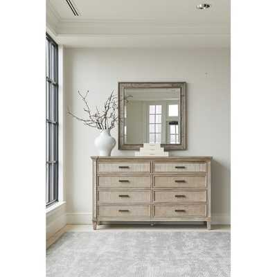 Willow Modern & Contemporary Landscape Beveled Dresser Mirror Finish: Burlap - Perigold