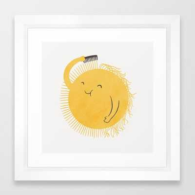 Good Morning, Sunshine Framed Art Print - Society6