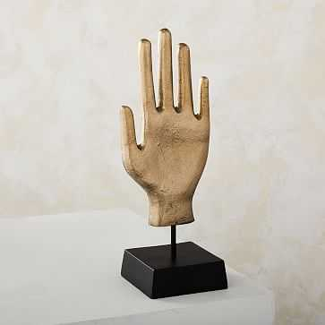 Pure Hand Object, Brass - West Elm