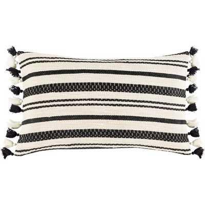 Rankins Cotton Striped Lumbar Pillow - AllModern
