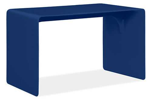 """Cooper Benches-Navy-29""""w 15""""d 16""""h - Room & Board"""