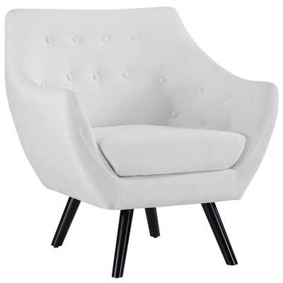 ALLEGORY ARMCHAIR IN WHITE - Modway Furniture