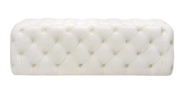 Jolie Bench, Cream - Studio Marcette