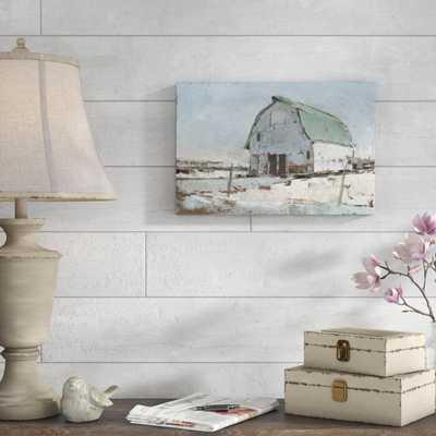 'Plein Air Barn I' Painting on Canvas - Wayfair