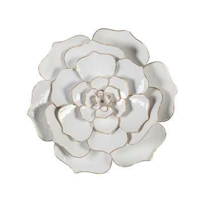 Flower Metal Wall Décor - Wayfair