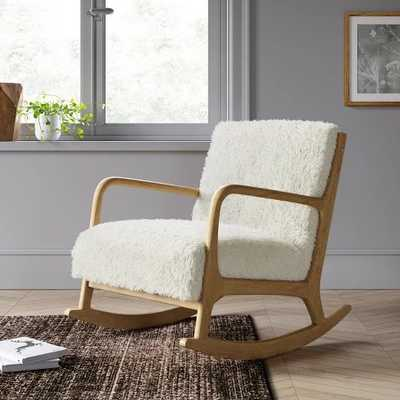 Esters Wood Arm Chair Sherpa - Project 62™ - Target