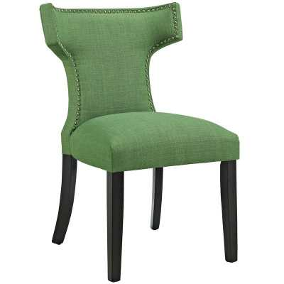 Curve Upholstered Dining Chair - KELLY GREEN - Wayfair