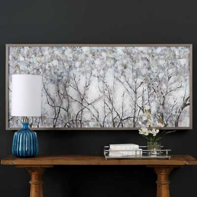 CANOPY OF LIGHTS HAND PAINTED CANVAS - Hudsonhill Foundry