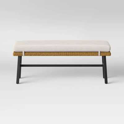 Berkshire Patio Dining Bench - Brown - Threshold™ - Target