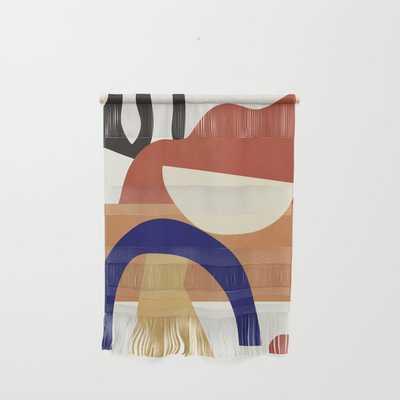 Abstract Art 38 Wall Hanging - Society6