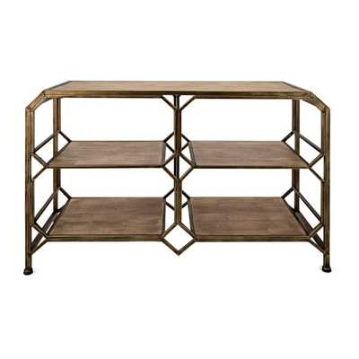 Tobias Console Shelf - Mercer Collection