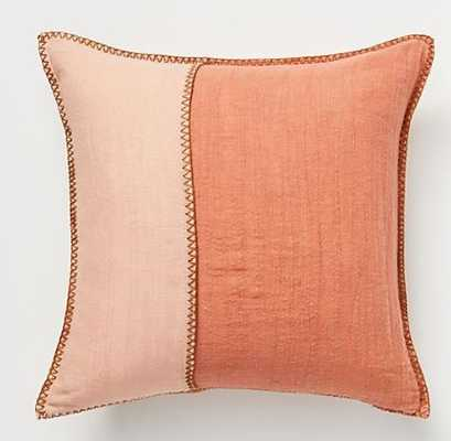 Audie Cotton-Linen PIllow - Anthropologie