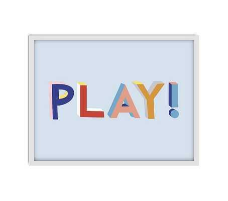 Chasing Paper PLAY! Art White Frame - Pottery Barn Kids