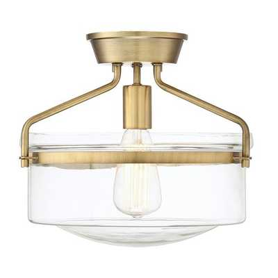 Frannie 1-Light Semi Flush Mount - Wayfair