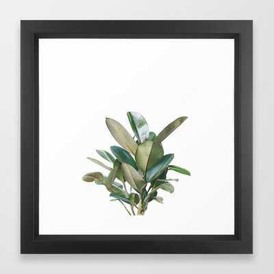 Green Bush Framed Art Print - Society6