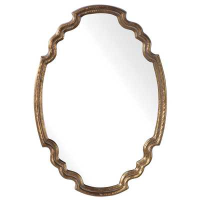ARIANE OVAL MIRROR - Hudsonhill Foundry
