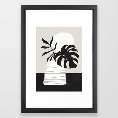 Vase 3 Framed Art Print  by ThingDesign - Society6
