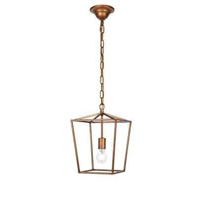 Andover Mills Finnick 1-Light Geometric Pendant - Gold - Wayfair