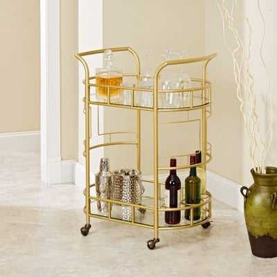 Boswell 2-Tier Bar Cart - AllModern