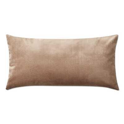 Velvet Pillow Cover, Apricot - Williams Sonoma Home