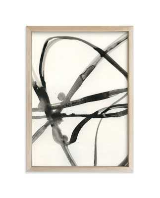 """Plant Cell 1 5"""" x 7"""" Matte Brass Frame - Minted"""